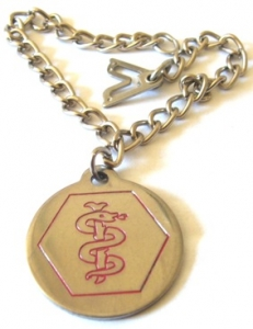 LADIES CHARM MEDICAL ID